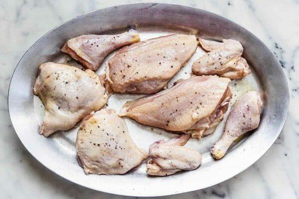 Receta de pollo al horno dore el pollo