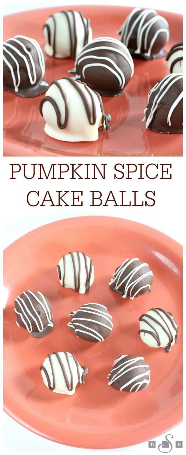 Palloni per torta di zucca e spezie -