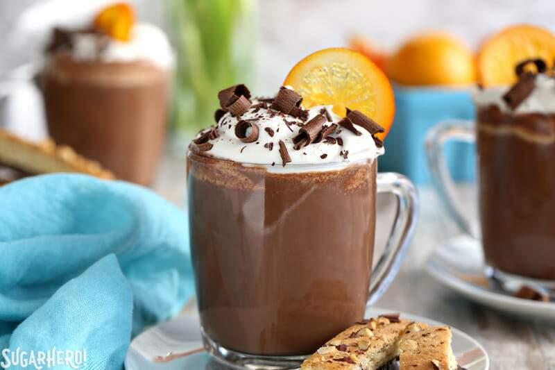 Chocolate Caliente Naranja