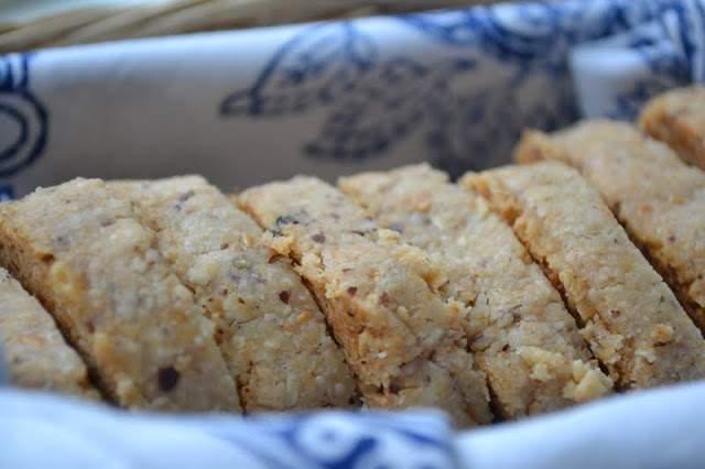 Galletas de mantequilla de almendras manchego y marcona