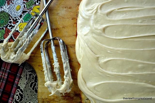 hacer glaseado de caramelo