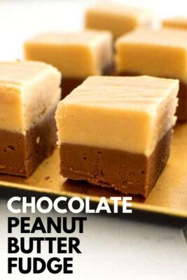 imagen de pin de chocolate con mantequilla de maní