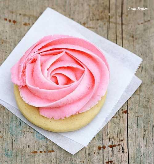 Tutorial Rose Cookie