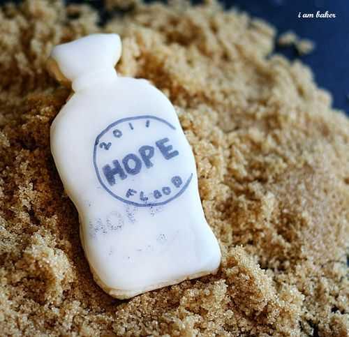 Galletas de sacos de arena