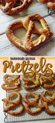 imagen de pin pretzels alemanes caseros
