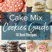 Las galletas Cake Mix son una manera fácil de disfrutar de galletas recién horneadas al estilo de panadería en su propia casa con prácticamente cero esfuerzo. Hacer cookies con Cake Mix significa que no tienes que hacer ninguna medición y simplemente no puedes equivocarte. Galletas esponjosas, sabrosas e increíbles cada vez. Aprenda a hacer galletas con Cake Mix en cualquier combinación de sabores. ¡Las mejores recetas de galletas Easy Cake Mix están aquí!