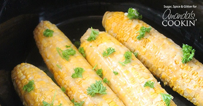 Making corn on the cob in your slow cooker is easy! Follow the simple instructions for this crock pot corn on the cob and you'll be a regular fan.