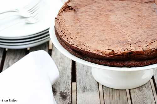 ¡Tarta de chocolate sin harina!