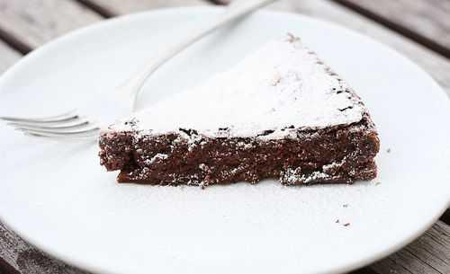 ¡Tarta de chocolate sin harina! ¡Sin gluten!