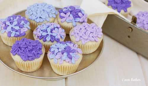 Tutorial de pastel lila
