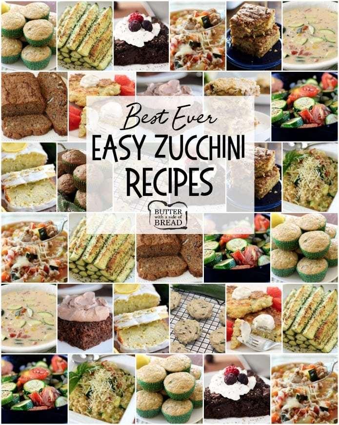 Fáciles Recetas De Zucchini