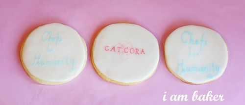 Galletas Cat Cora