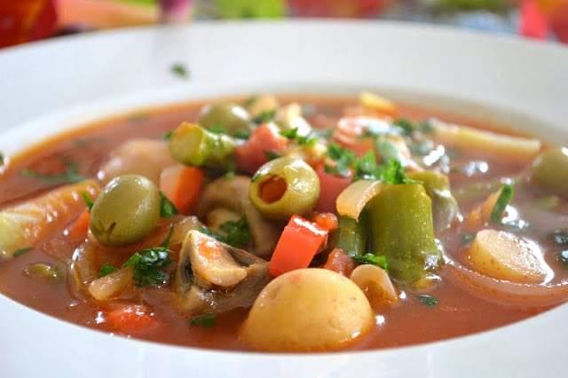 Menestra De Verduras Sopa De Verduras Española