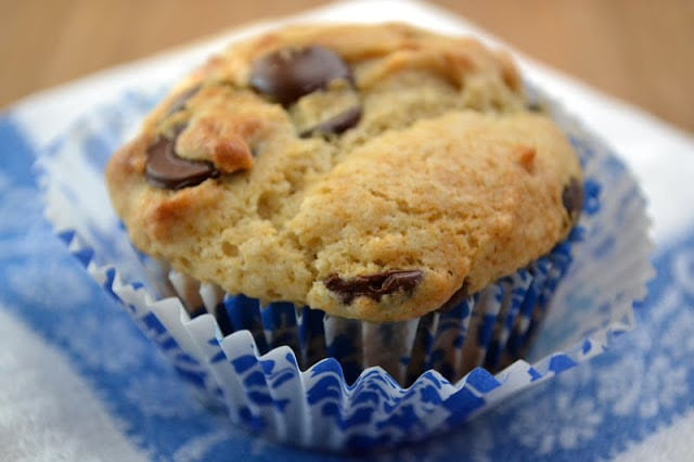 MUFFIN CHIP DE CHOCOLATE DULCE