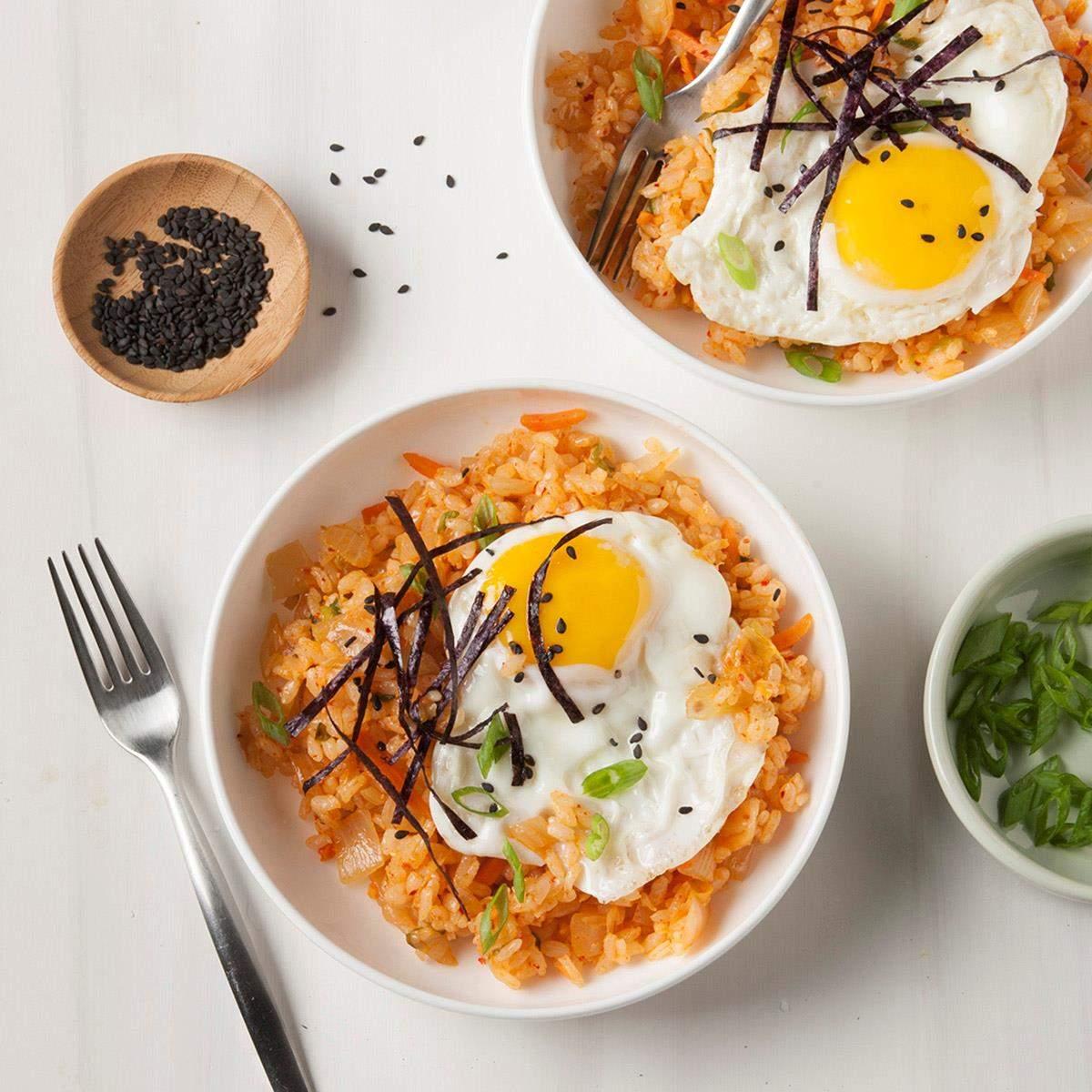 Receta De Arroz Frito Con Kimchi Sabor De Casa