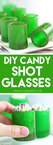Bricolaje Candy Shot Glasses | De SugarHero.com