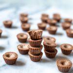 Bombas de grasa de chocolate