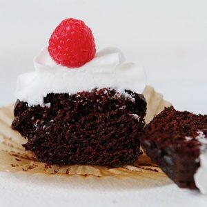¡La magdalena de chocolate MÁS FÁCIL! (¡Eso simplemente es vegano!)