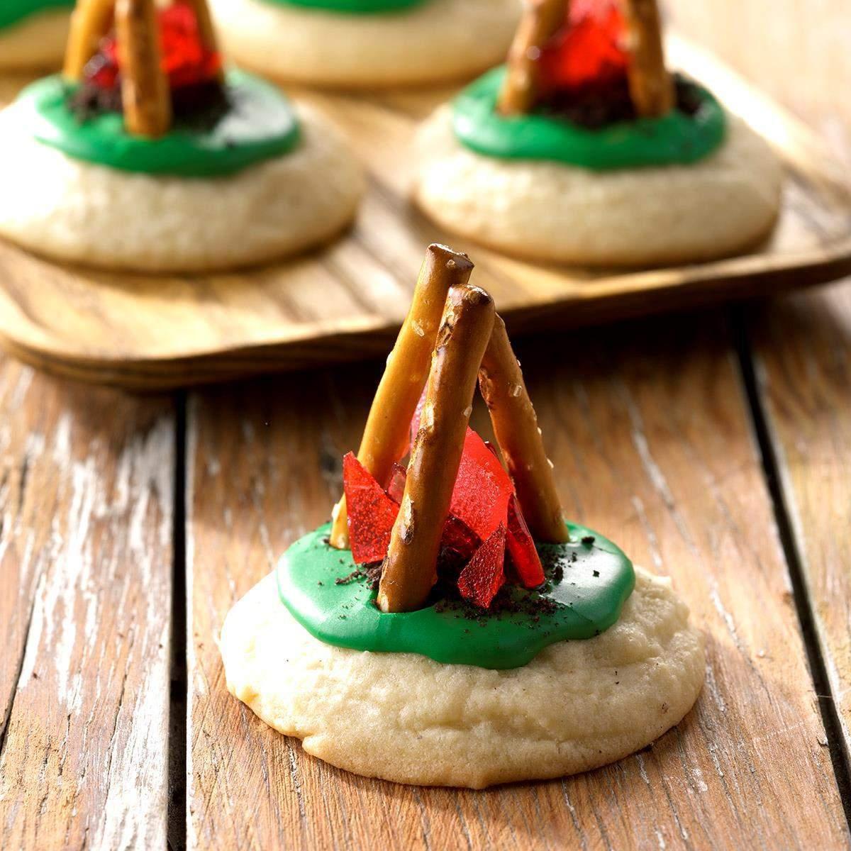 Receta de galletas de fogata   Sabor de casa