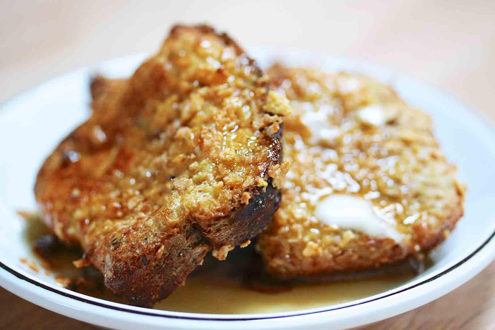 pão dourado crocante
