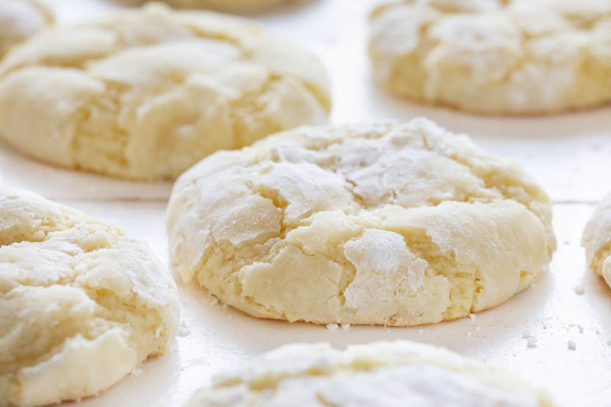 Ooey Gooey Lemon Cookies