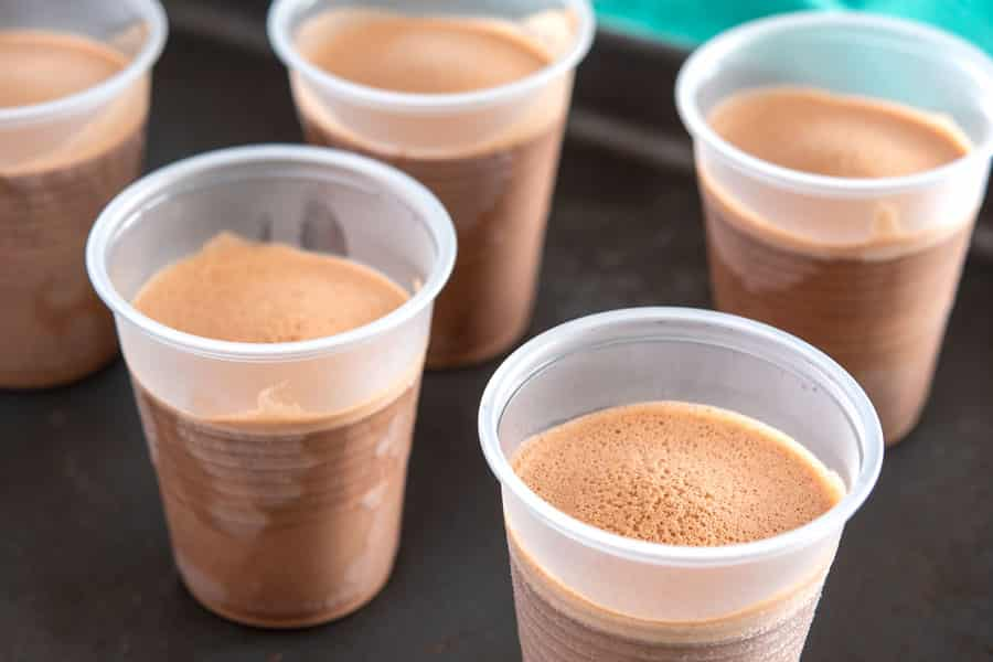 Limber de Nutella en copas
