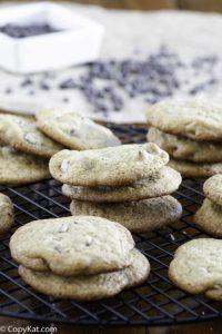 galletas de chispas de chocolate como la señora campos