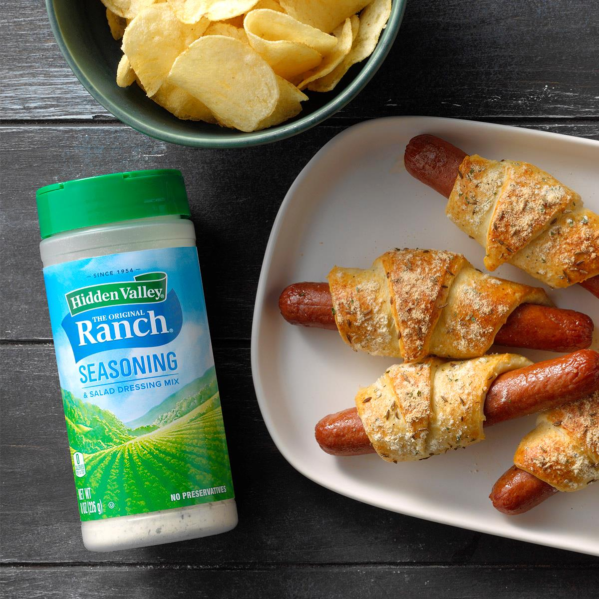 Ranch Pigs in a Blanket Recipe