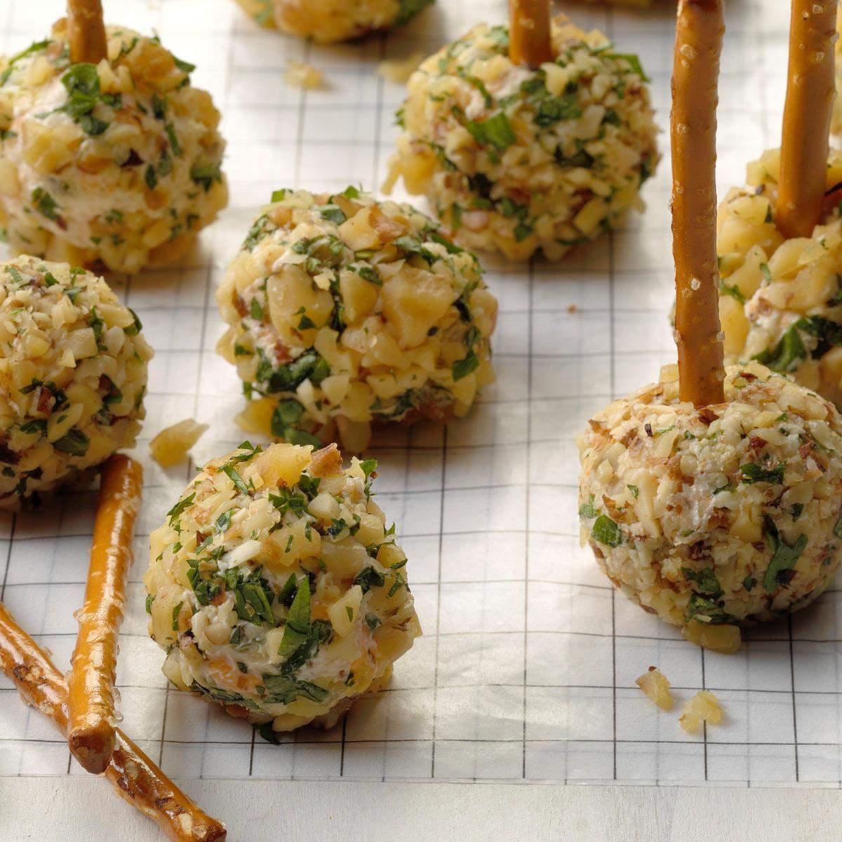 Receta Dilly Mini Cheese Balls