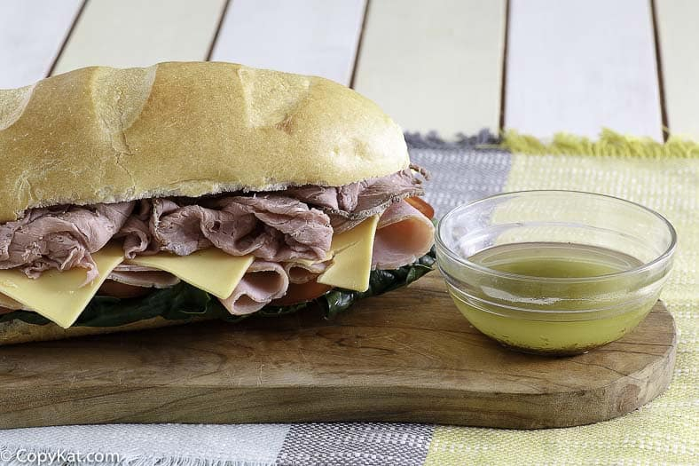 Receta de salsa de Mr. Sub Secret