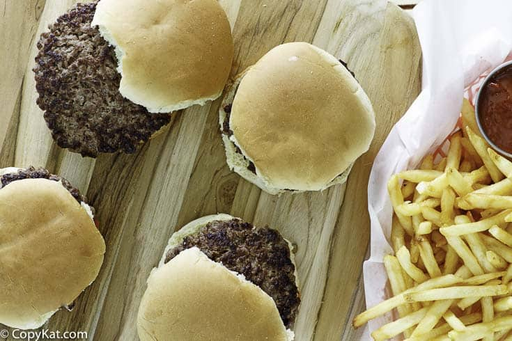 Cómo hacer hamburguesas McDonalds a la antigua