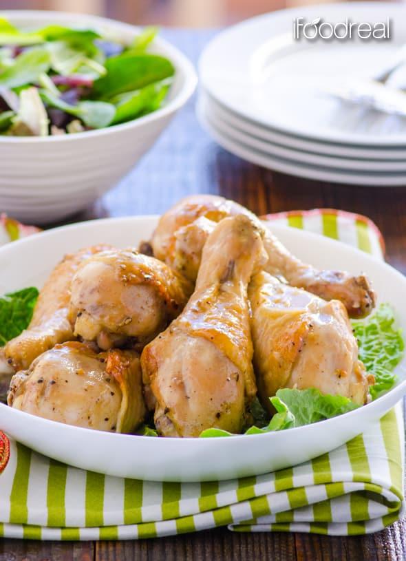 pollo dijon al horno