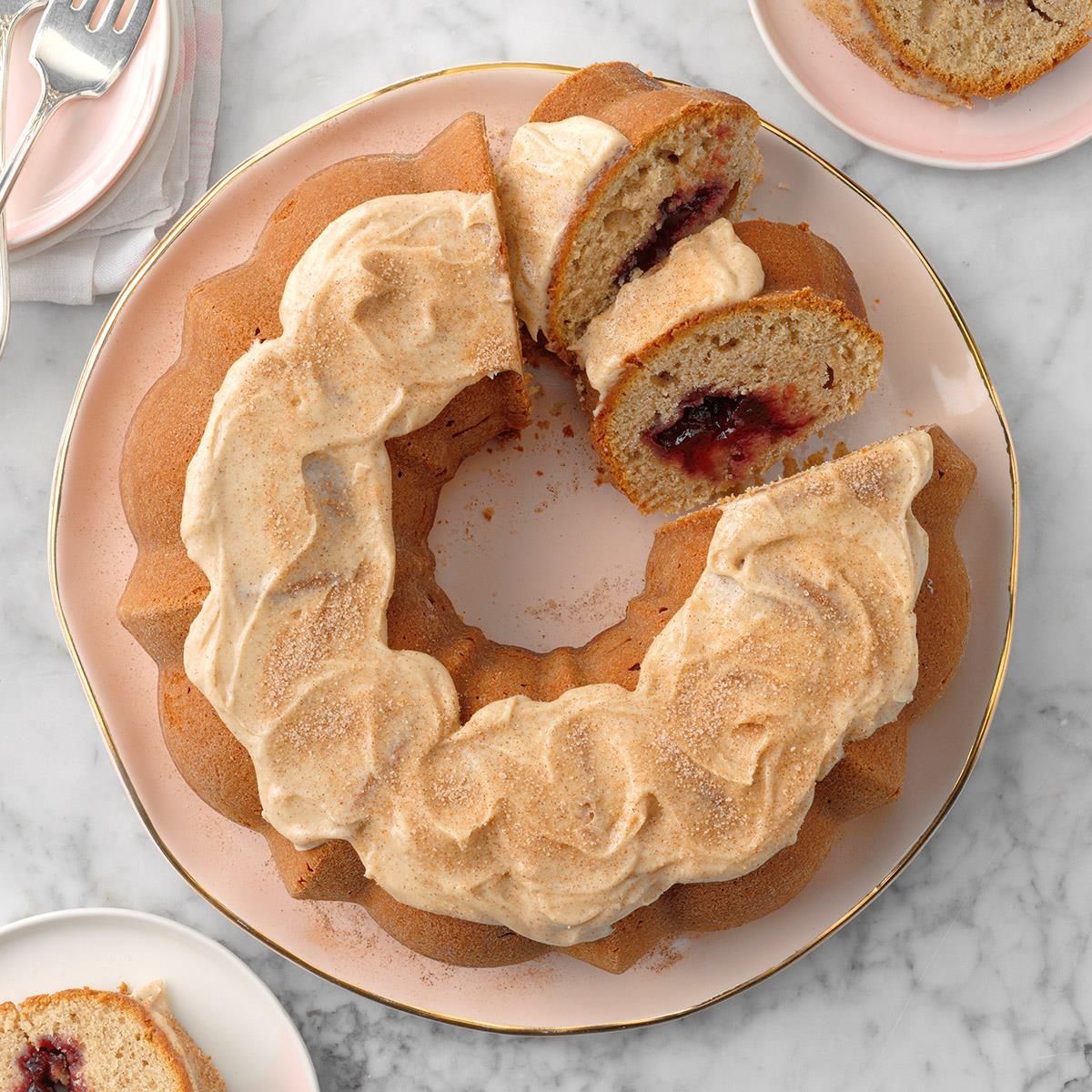 Jelly Donut Cake Receta | Sabor de casa