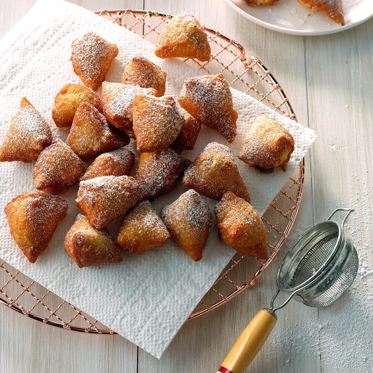 Receta Air-Fryer Mini Nutella Donut Holes