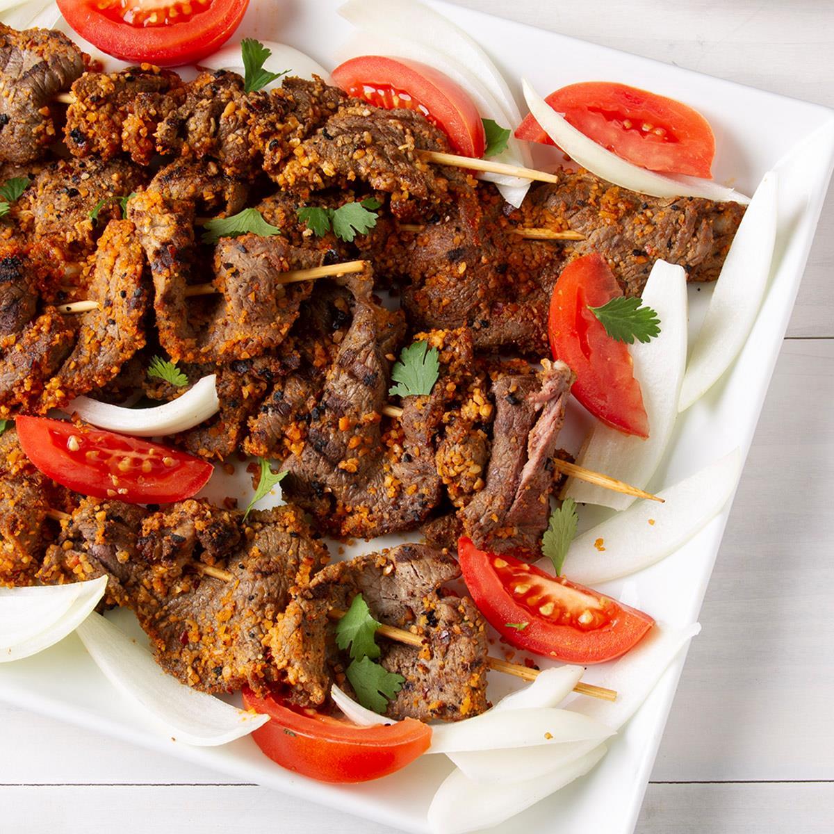Receta de carne de res Suya | Sabor de casa