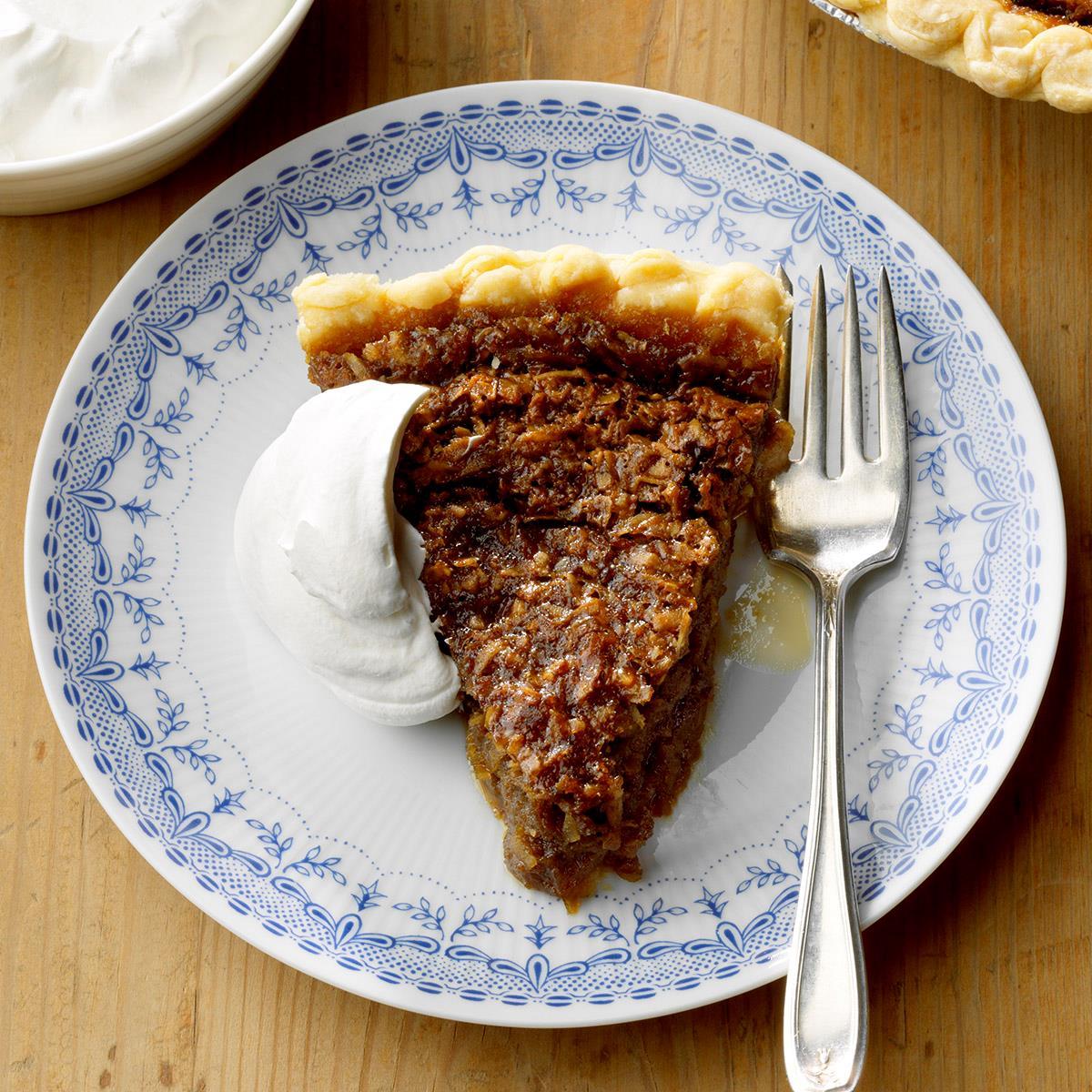 Receta de pastel de melaza de coco de mamá y mamá Bessie