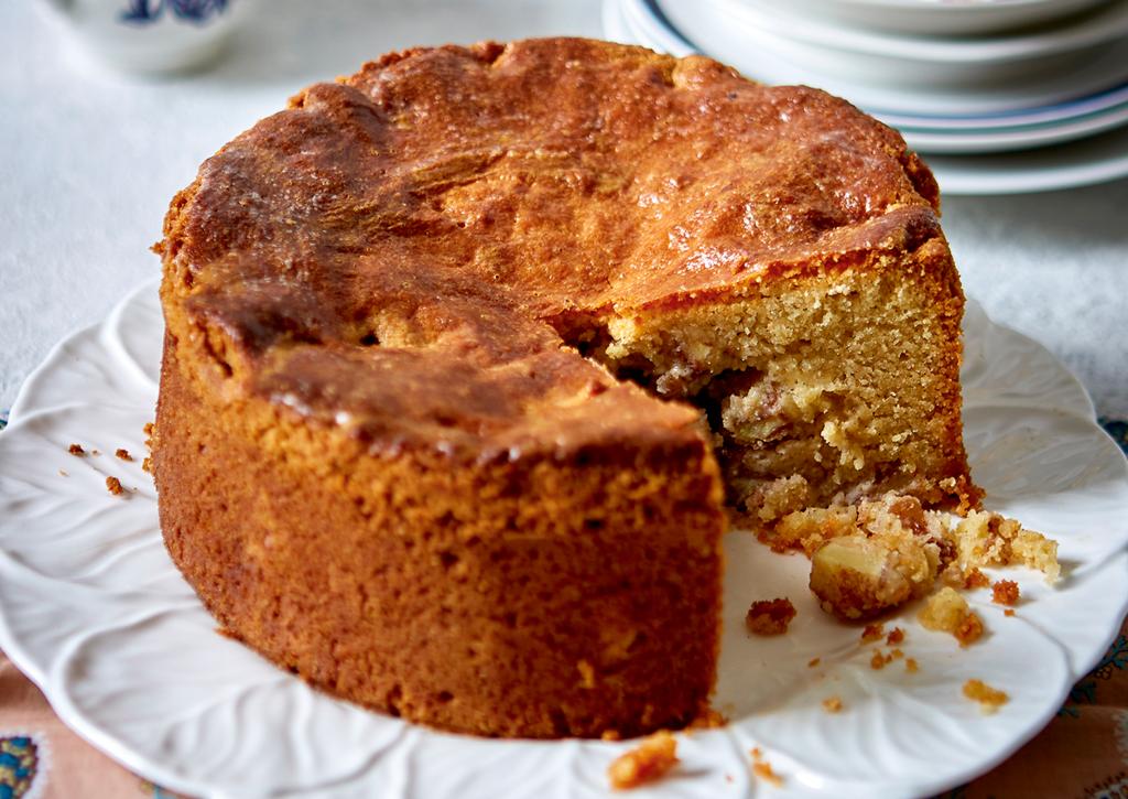 Tarta de manzana holandesa Inspirado en el famoso pastel de manzana holandés del café Winkel 43 de Ámsterdam, crea este pastel deliciosamente condimentado para ti.