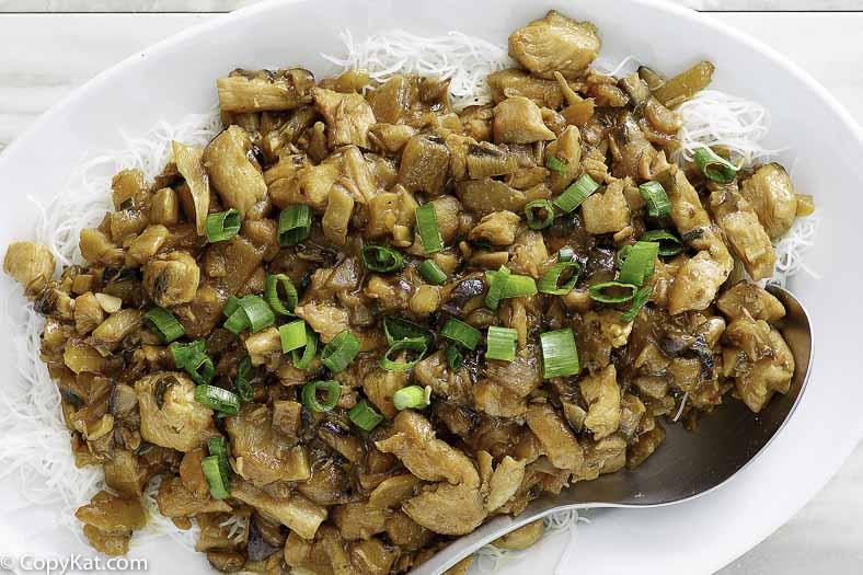Wraps de lechuga con pollo de PF Chang
