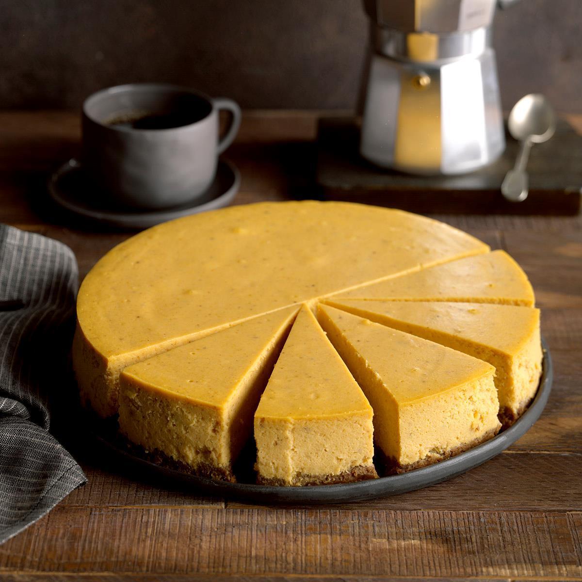 Receta de pastel de queso con calabaza y especias | Sabor de casa