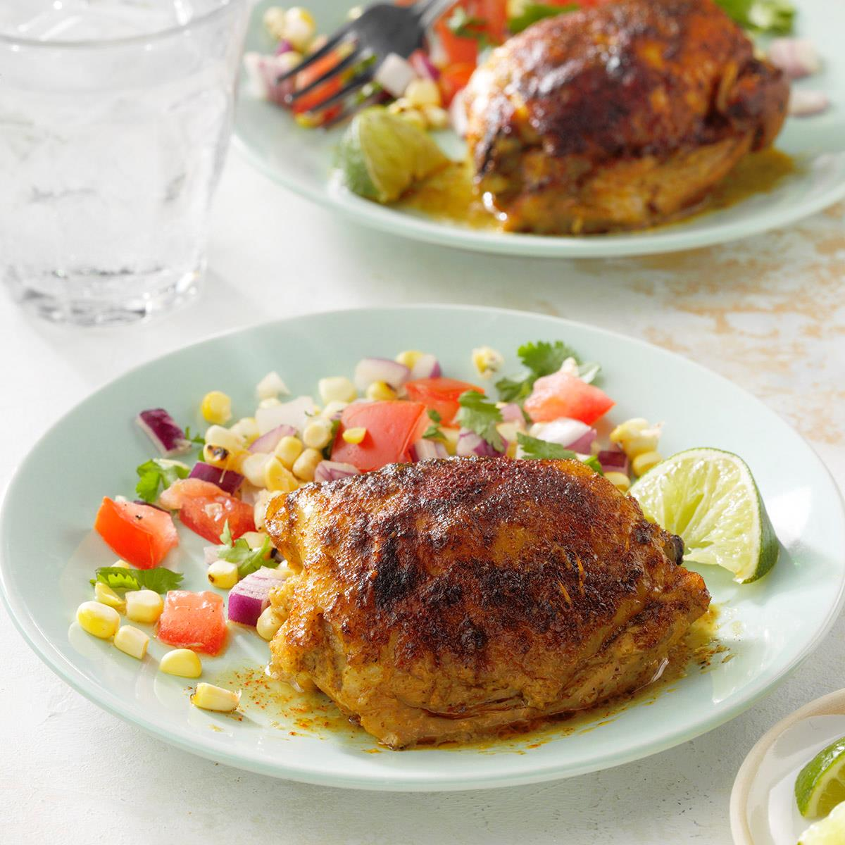 Receta de pollo con cilantro y lima | Sabor de casa