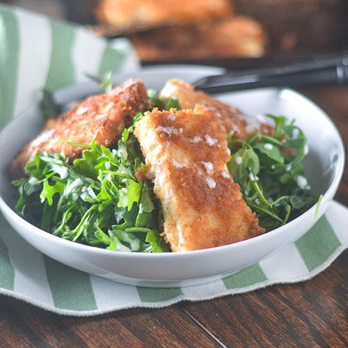 Milanesa de tofu vegano - Alimenta tu alma también