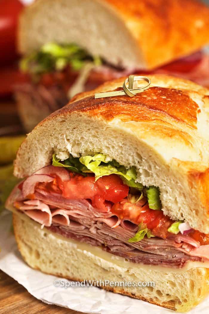 Sub Sandwich Italiano