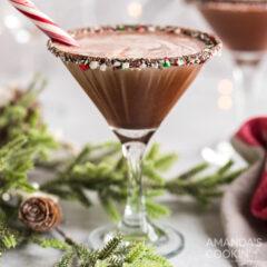 martini de chocolate y menta