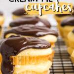 Imagen de pin de cupcakes de tarta de crema de Boston