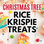 árbol de navidad arroz krispie trata imagen de alfiler