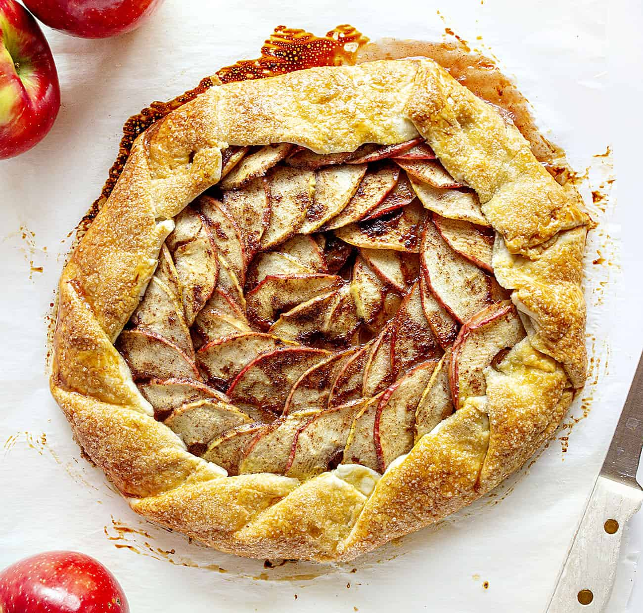 Baked Homemade Homemade Apple Galette